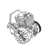 Benzinmotor alkatrészek