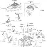 Benzinmotor és alkatrészei